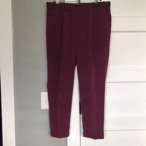Crimson Loft Cropped Pant